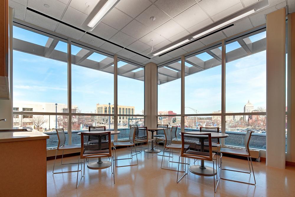 Crime Lab Interior