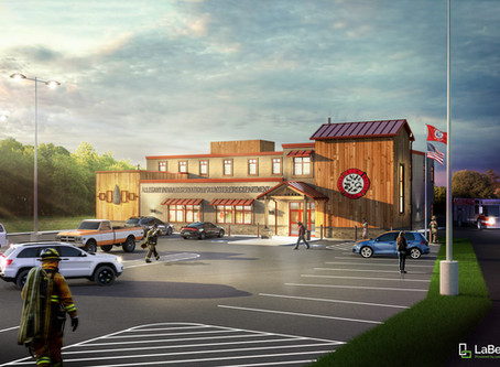 In Progress: Allegany Fire Station for the Seneca Nation