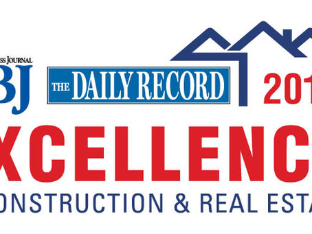 LaBella Wins Triple Honors from the RBJ and Daily Record's Construction & Real Estate Awards