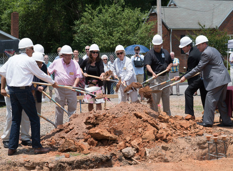 Groundbreaking for Mitchell Community College's New Agribusiness Systems Building