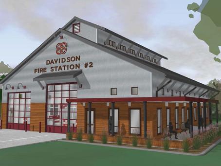 Groundbreaking Ceremony for Davidson Fire Station No. 2