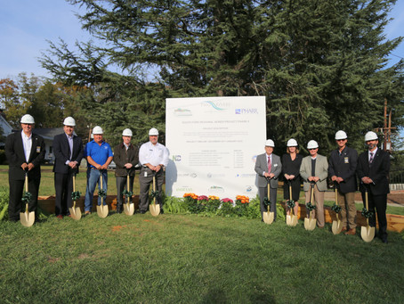 The South Fork Sewer Project Breaks Ground