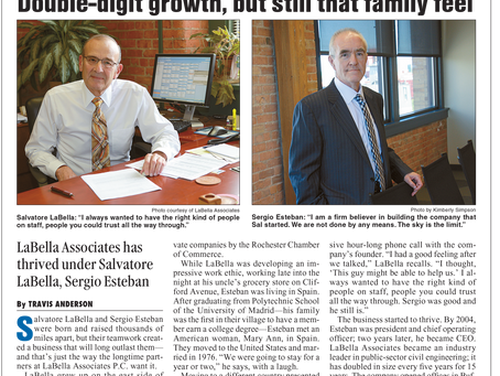 Sal LaBella and Sergio Esteban Join Rochester's Business Hall of Fame!
