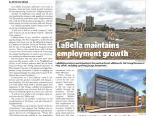 LaBella Featured in the Rochester Business Journal!