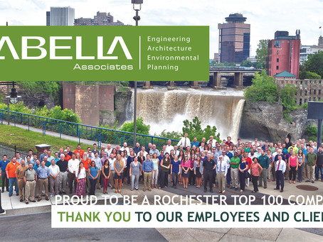 LaBella Associates Jumps to #33 on the Rochester Top 100 List!