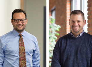 Congratulations to Jorge de la Fuente and Mike Mishook on Their Promotions!