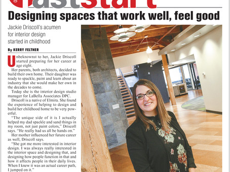 Interior Design Studio Manager Jackie Driscoll Profiled in Rochester Business Journal