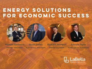 LaBella Presents Energy Solutions for Economic Success