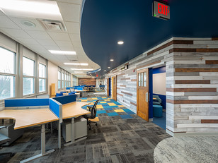 Natural Light and Texture Abound in Webster CSD's Administrative Offices