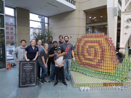LaBella Associates Wins People's Choice Award at 2016 Canstruction!