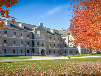 St. John Fisher College's Upper Quad Residence Hall is the Latest in an Eloquent Campus Vocabula