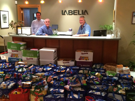Happy Thanksgiving!  Food Basket Drive Nets Double the Donations