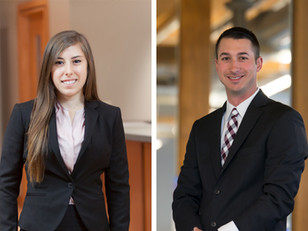 Ann Aquilina and Jon Spurr are now Professional Engineers!
