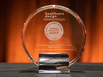 Roswell Park Patient Terrace Wins Buffalo AIA Honors and National Honors from Healthcare Design Maga