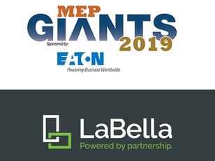 LaBella Keeps Climbing the MEP Giants List!