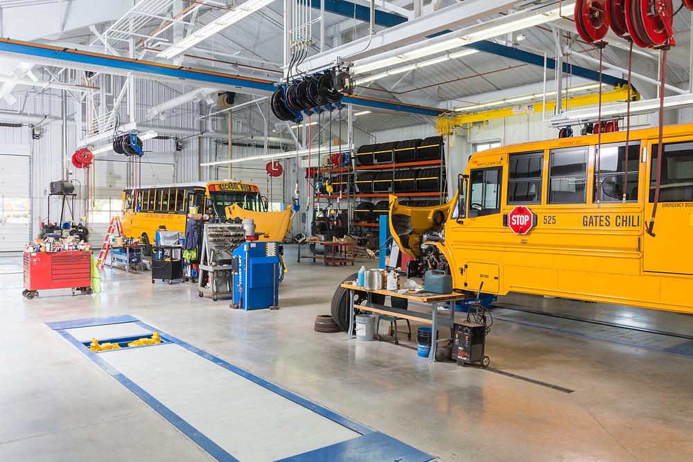 Gates Chili Bus Garage