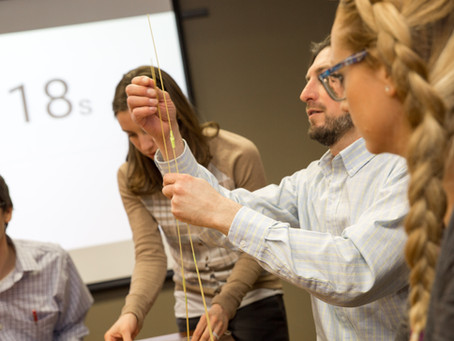 Engineers Week: LaBella Takes the Marshmallow Challenge