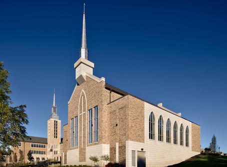 St. John Fisher College's Hermance Family Chapel Wins Award of Excellence