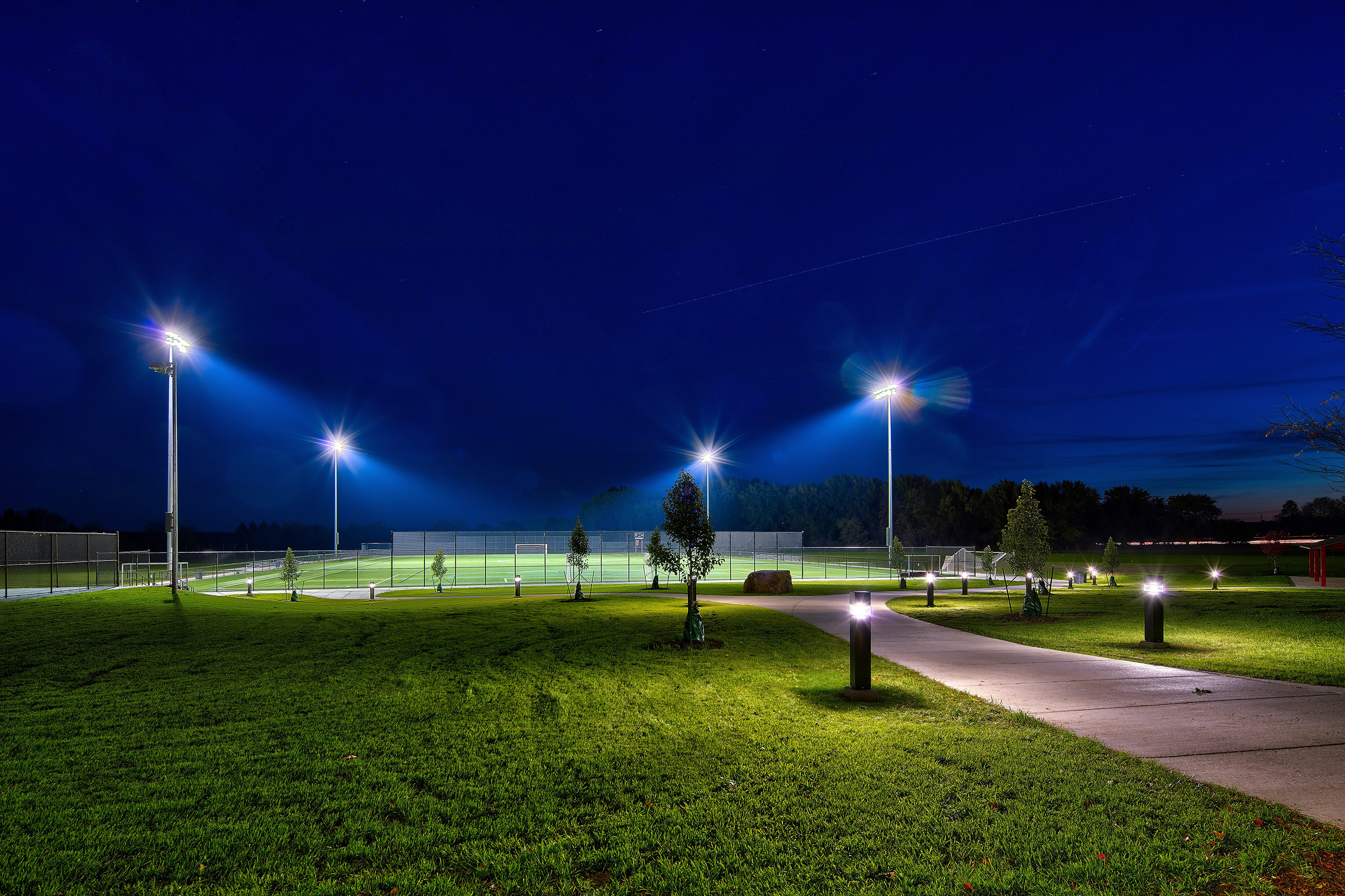 Labella S Athletic Field Lighting Recognized By Illuminating