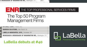 LaBella Debuts at #40 on ENR's Program Management Firms List