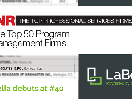 LaBella Debuts at #40 on ENR's Program Management Firms List