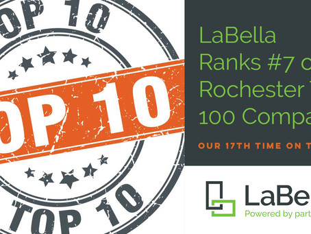 LaBella Ranks #7 on the Rochester Top 100!