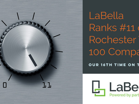 LaBella Ranks #11 on the Rochester Top 100!