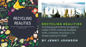 """Recycling Realities, as Published in """"Talk of the Towns"""""""