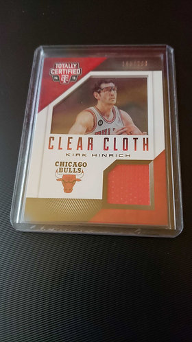 2014-15 Panini Totally Certified Kirk Hinrich Clear Cloth Jersey /299