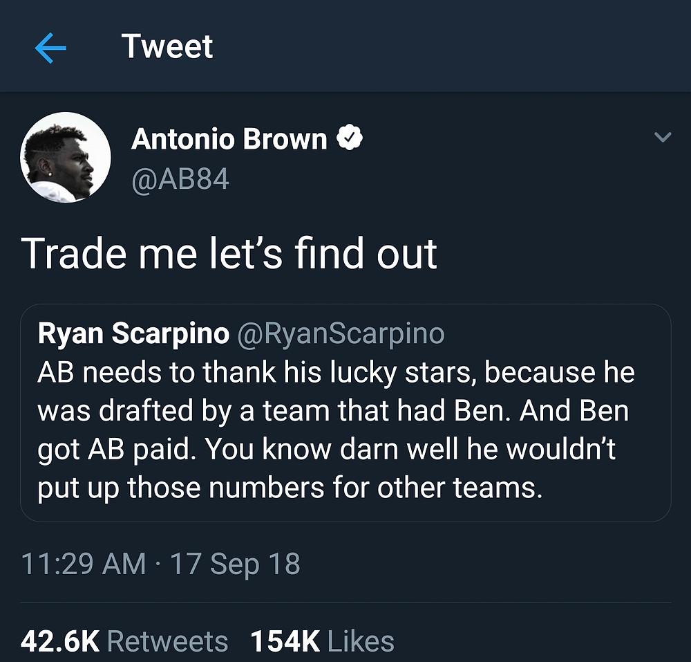 via Antonio Brown's twitter