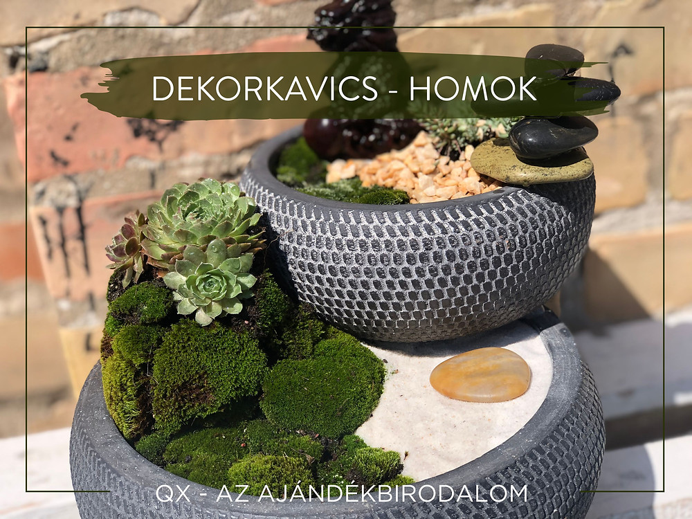 DEKORKAVICS - GYÖNGY - HOMOK