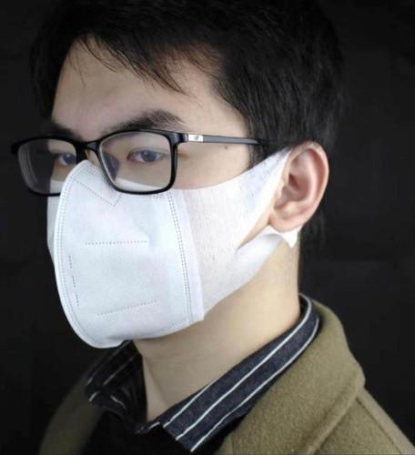3 rétegű 3D-s FFP2 egészségügyi maszk