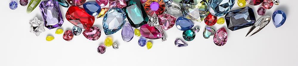 Berns - Swarovski kristály színek