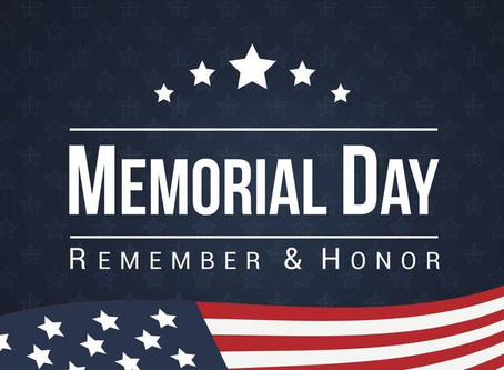 Memorial Day - Honoring Those Who Gave Their Lives For Others