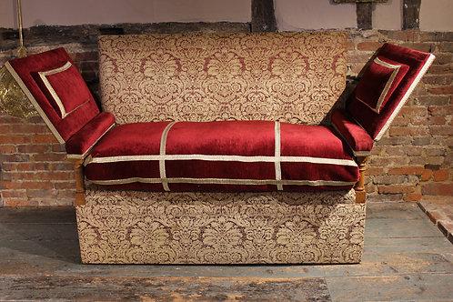 Late 19th century Knole sofa