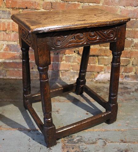 17th century joint stool
