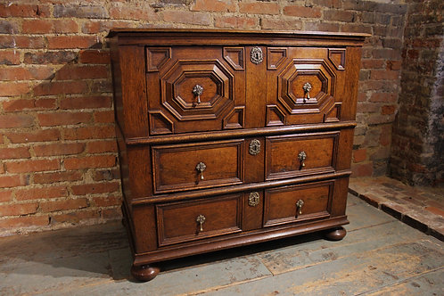 17th century oak chest of drawers