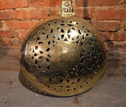 17th century brass warming pan