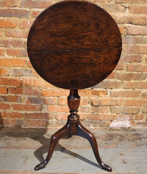 Small 18th century tripod table