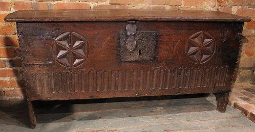 Late 16th century coffer