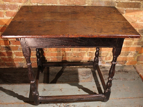 17th century oak table