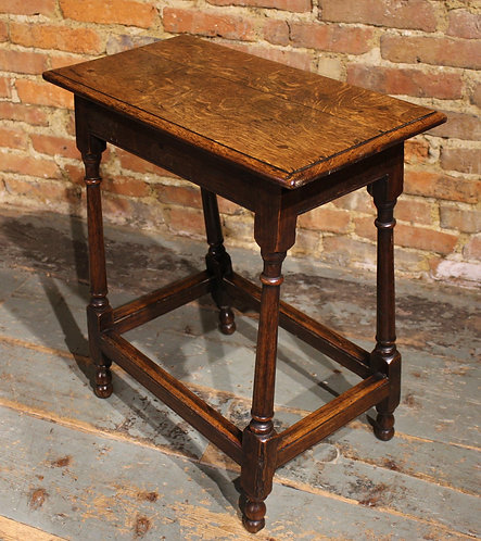Small 18th century oak table or stool