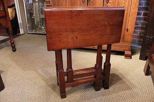 Very small 18th century mahogany table