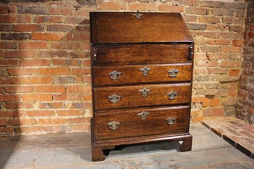 Small oak bureau circa 1700