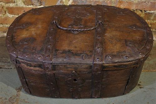 17th century iron bound chest