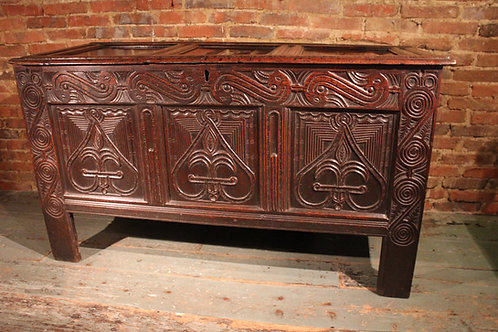 17th century Gloucestershire coffer