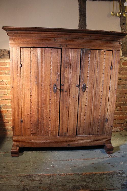 17th century oak cupboard