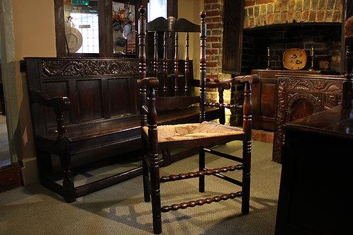 Early 18th century armchair