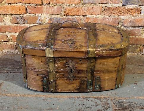 18th century iron bound chest