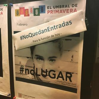 #noLUGAR en El Umbral de Primavera